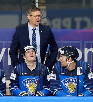 The Blue Jackets reportedly are considering a lot of familiar NHL names for their vacant coaching position, but GM Jarmo Kekalainen suggested this week that the team would consider Finland national coach Jukka Jalonen, here directing the Finns in the World Championships being held in Latvia.