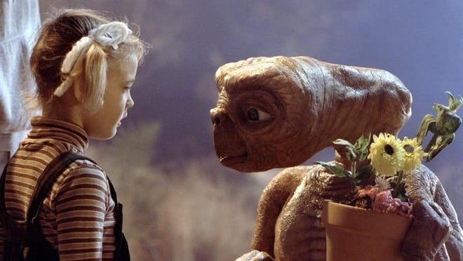 """""""E.T. the Extra-Terrestrial"""" film will be shown at the South Drive-In during a free event presented by the Wexner Center for the Arts."""