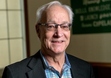 Hugh Sherman will become the 22nd president of Ohio University on Monday.