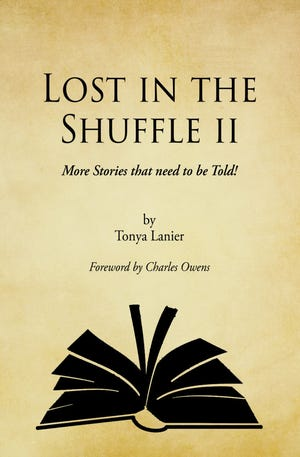 Pictured is the front cover of Tonya Lanier's fourth book.