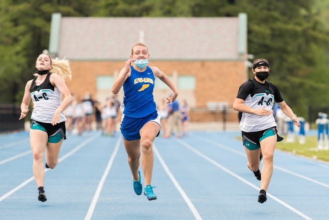 Zoe Balinsky brings home yet another first place finish in the 100-meter dash as the spring sports are headed into county championship and sectionals.