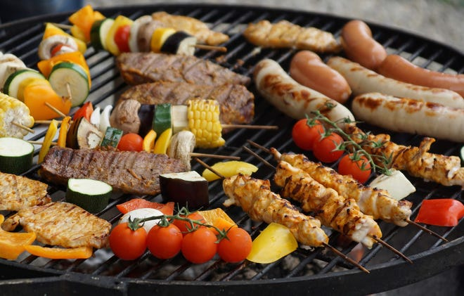 Adding some fruit and vegetables to your grill is a good idea on many levels.