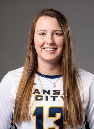 University of Missouri–Kansas City's Carly Gillen