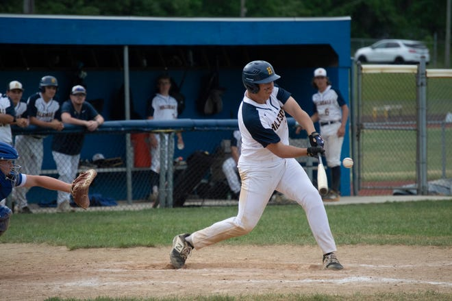 Hillsdale's baseball team wrapped up it's home season against Dundee.