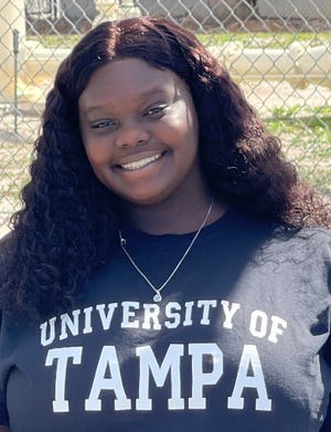 Haines City High School senior Brielle Barnes struggled with homelessness this year — one of about 4,000 Polk County Public Schools students to face a lack of or insecure housing. She received two scholarships to attend the University of Tampa in the spring.
