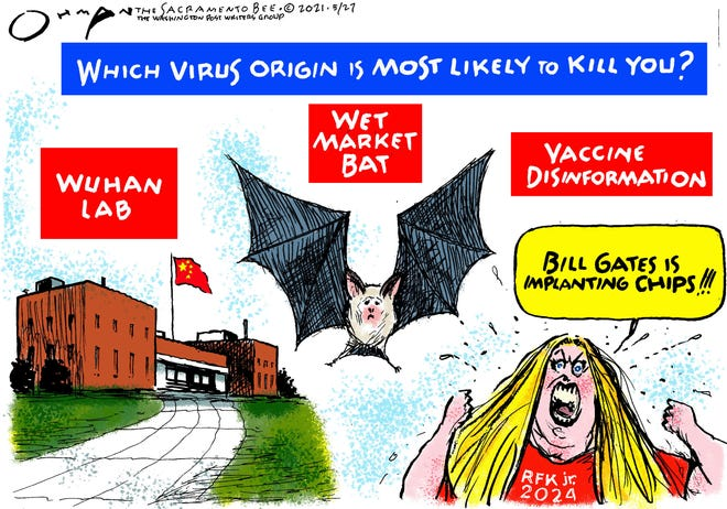 Today's editorial cartoon (May 28, 2021)