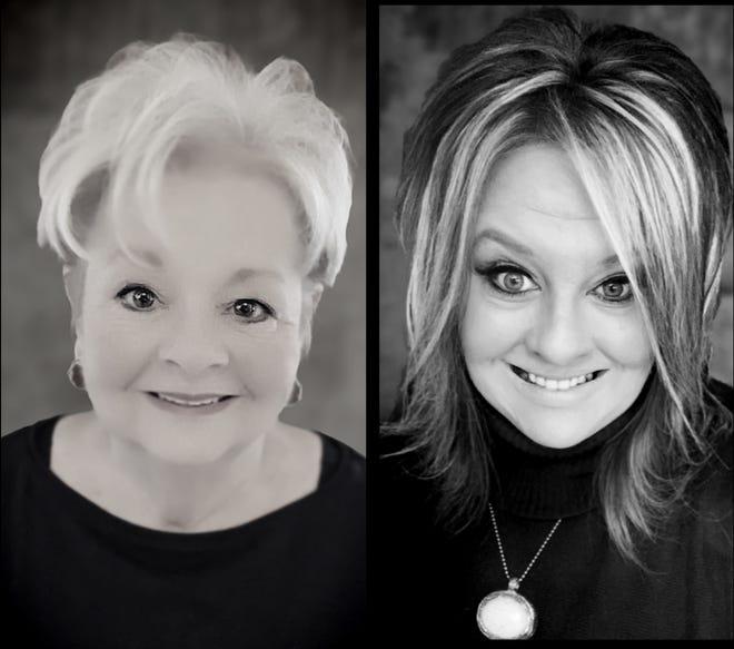 Left: Marilyn Martin, Right:Jennifer Campbell.