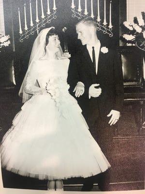 60 years: Ruth Ann and John Bell, of Jones, were married June 2, 1961.