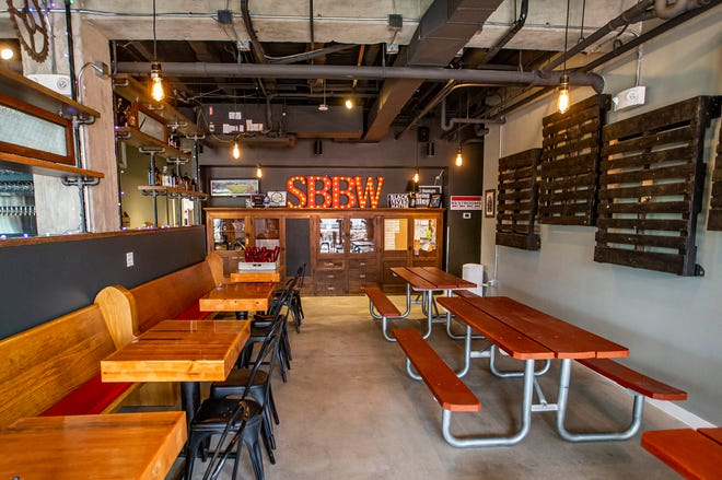 Inside the new South Bend Brew Works location on Thursday, May 27, 2021, in South Bend.
