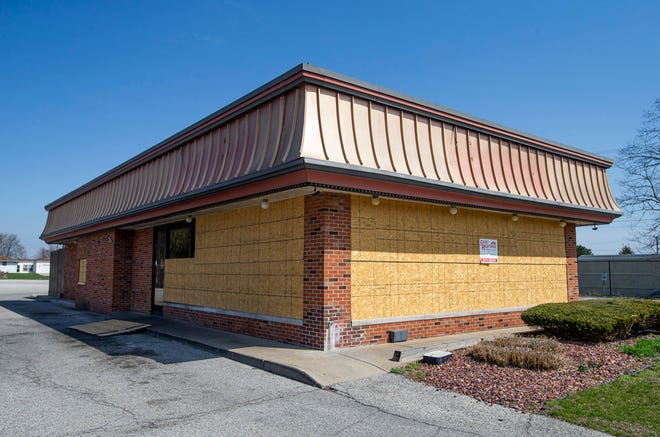 A former Wendy's on Lincolnway West is planned for a future Penguin Point location Tuesday, April 6, 2021, in South Bend.