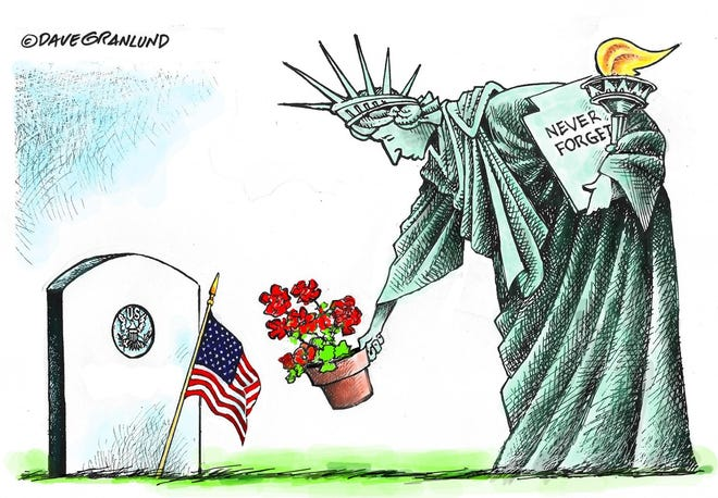 Granland cartoons: Memorial Day