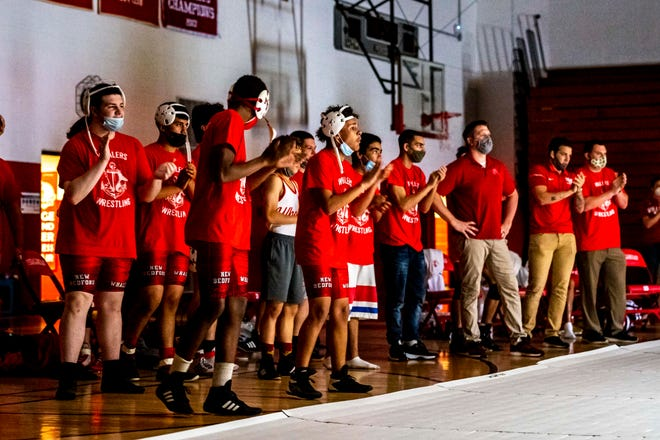 New Bedford wrestling will take on St. John's Prep on Wednesday in the Div. 1 state final.