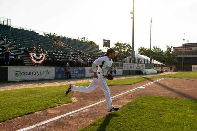 The Bravehearts used relief pitching and timely hitting Tuesday night to turn back the Suns in Pittsfield.