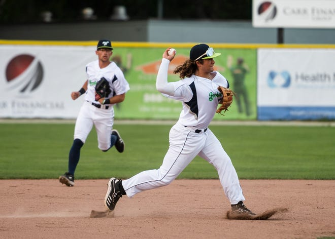 Bravehearts shortstop Dakota Harris was 2 for 4 with a double and a run in Saturday night's 4-2 win over the Brockton Rox in Worcester.