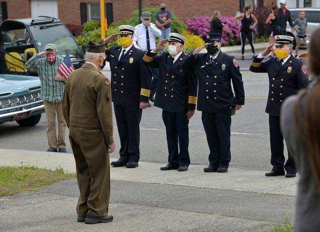 West Brookfield honored Everett Allen, a veteran who was a prisoner of war in World War II, on Memorial Day last year.