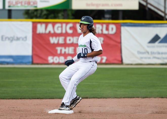 Dakota Harris' seventh-inning home run was the winner for the Bravehearts against the Lake Monsters on Wednesday night.
