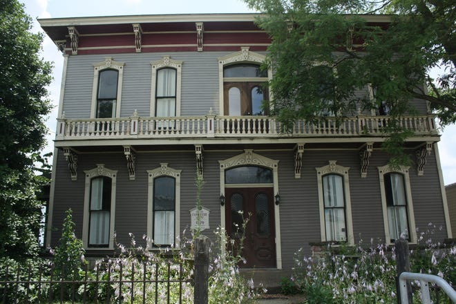 The Pomerene House in Berlin was built in 1879 and was listed on the National Register of Historic Places.