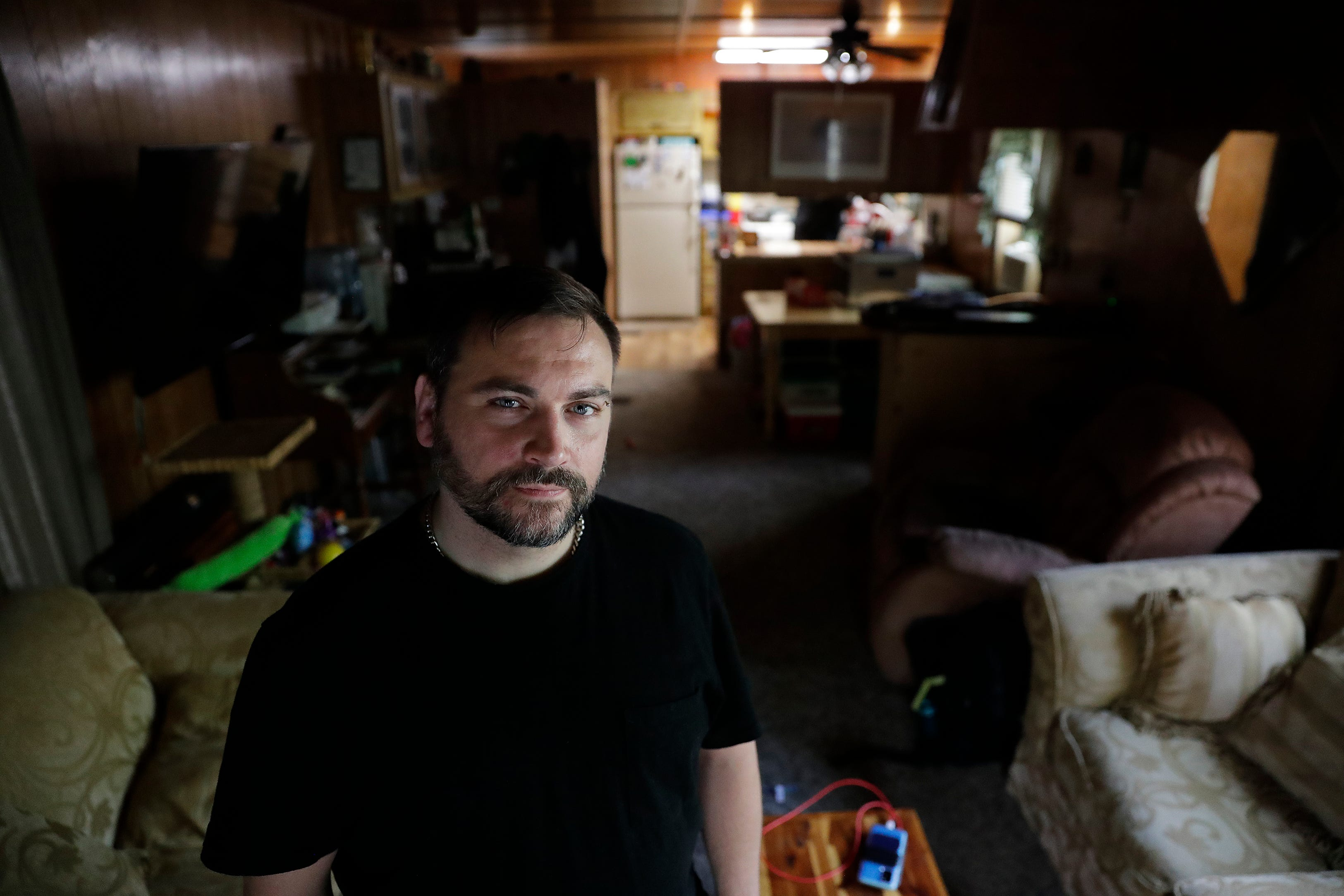 Chuck Andrews lives with a roommate in a rented trailer home in Menasha. The 35-year-old traffic coordinator for Woodward Radio Group has been looking for more than two years for an affordable apartment in hopes of spending more time with his 2-year-old daughter.