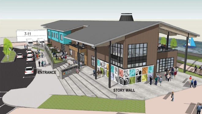 Rice Fergus Miller presented some initial design concepts of the South Kitsap Community Event Center to Port Orchard City Council on Tuesday. Design is expected to wrap up by the end of the year.