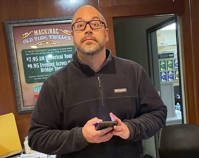 Benny Lucchese, manager of Crown Choice Inn & Suites in Mackinaw City, was terminated after a recording of him yelling and cursing at a customer went viral.
