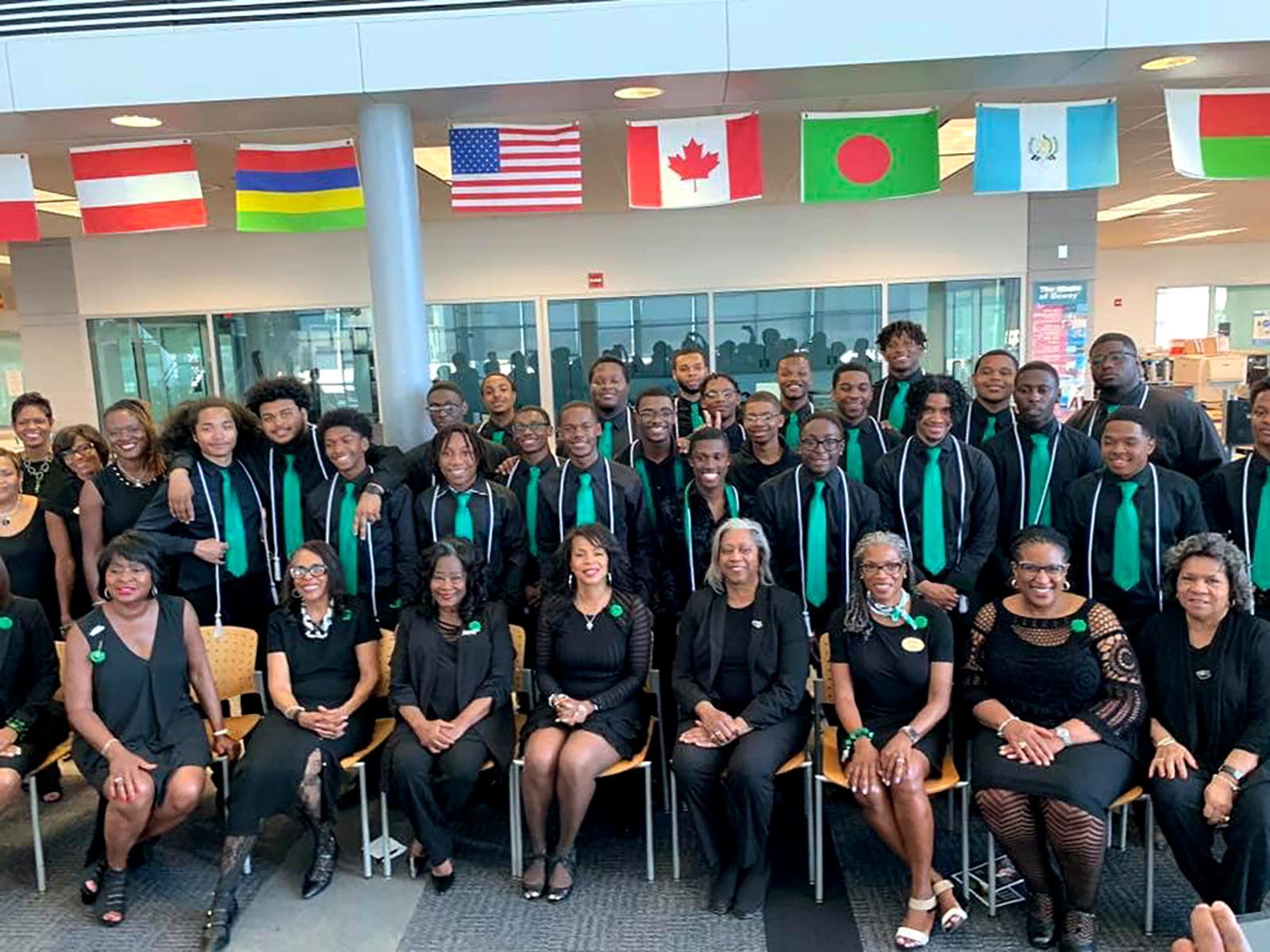 In Detroit, members of The Links, Incorporated have extended their volunteerism to touch the lives of young men, including a pre-pandemic mentoring program with Cass Tech students called CT GENTS.