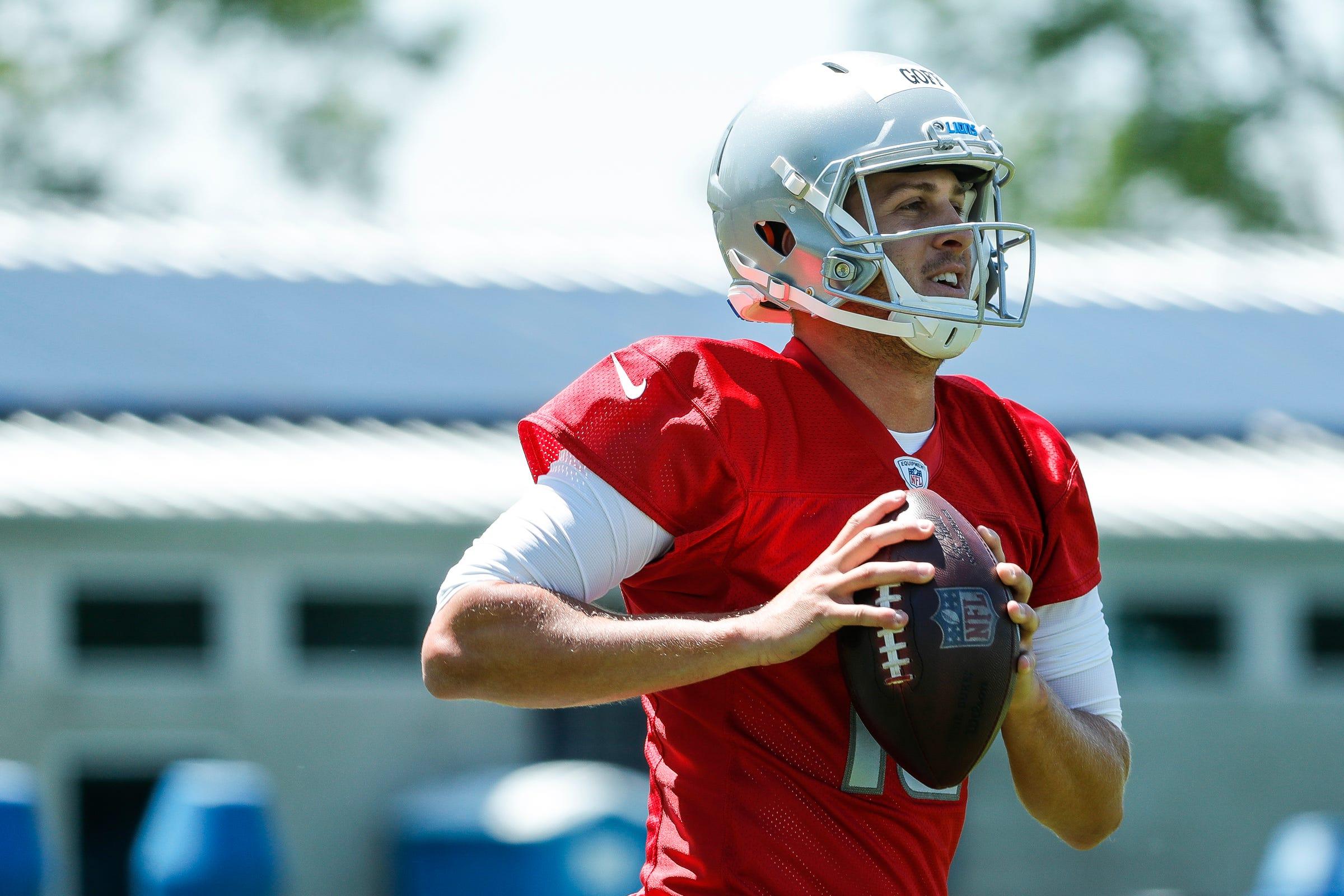 Jared Goff was impressive in first practice as Detroit Lions quarterback, and this is why