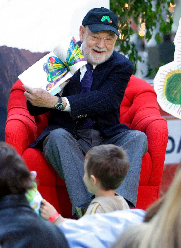 'The Very Hungry Caterpillar' author Eric Carle dies at 91 2