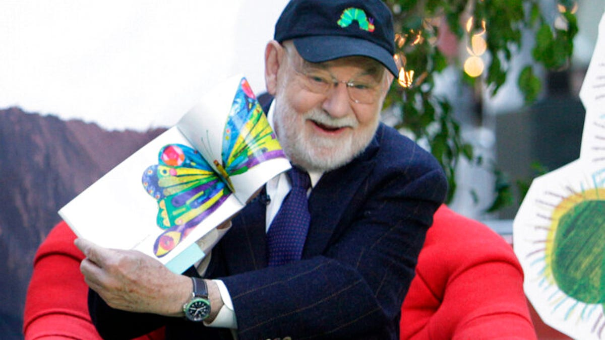 'The Very Hungry Caterpillar' author Eric Carle dies at 91 3