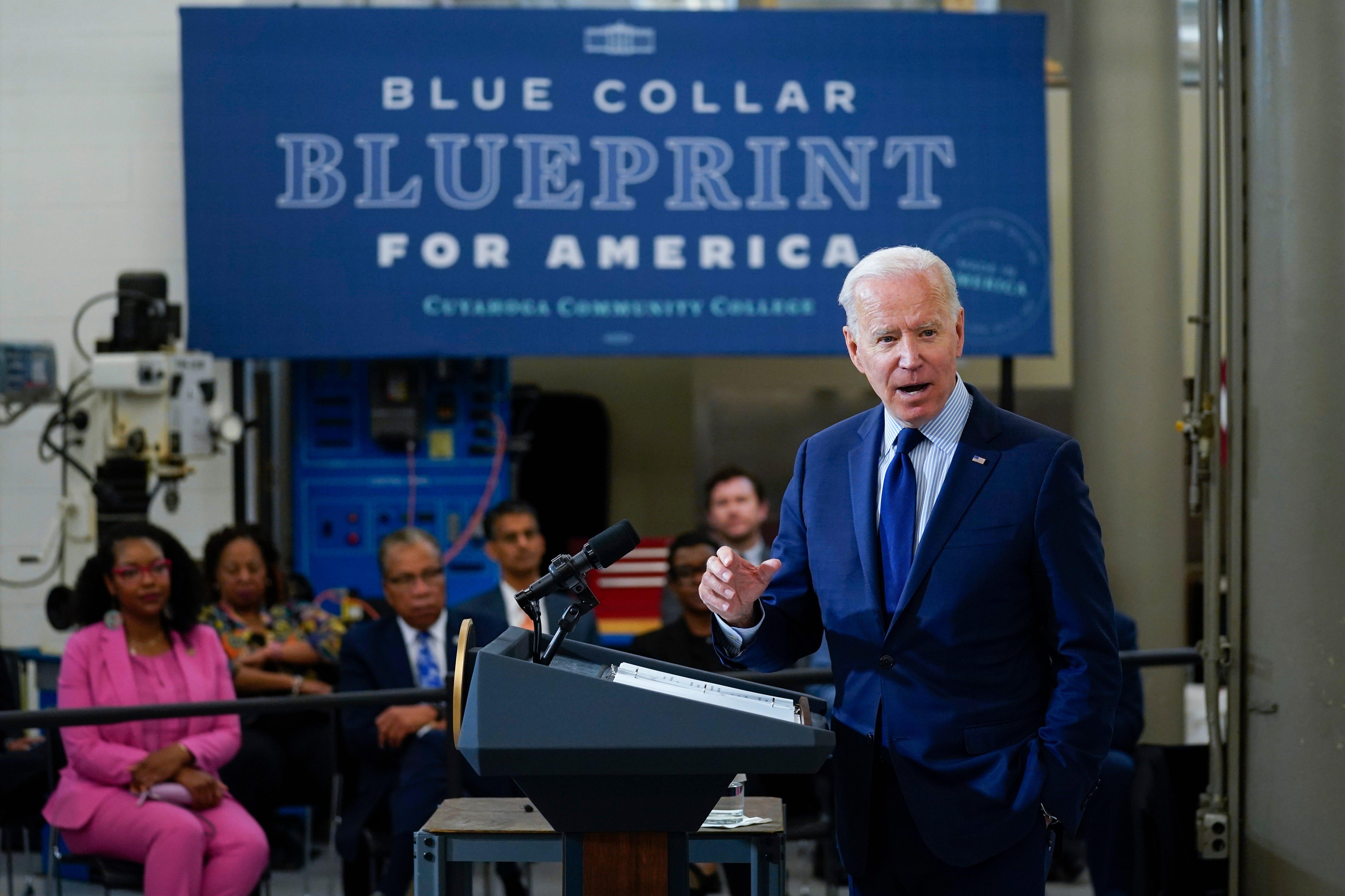 Social spending, business tax hike drive $6T Biden budget 2