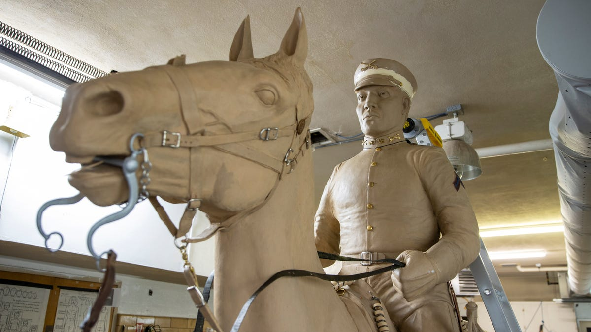 Buffalo Soldiers taught horsemanship at segregated West Point. Soon a statue will honor their service. 3