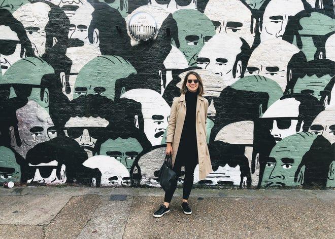 2019, Jessica Marati Rad Pulver in London.
