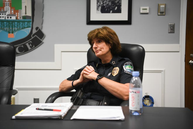 Knoxville Police Chief Eve Thomas said she is working to fix problems inside the department after an investigative report revealed commanders helped cover up an officer's racist comments. Thomas said her goal is for officers to feel comfortable coming to supervisors immediately with issues.