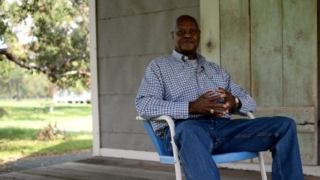 Elvin Shields runs educational tours at the Oakland Plantation in the Cane River region in Natchitoches Parish. Shields grew up on the plantation and worked as a sharecropper in the 1960s.