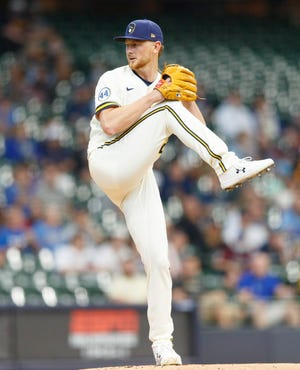 Eric Lauer gave the Brewers a strong spot start against the Padres, allowing just one run on four hits with a walk and six strikeouts in six innings of work.