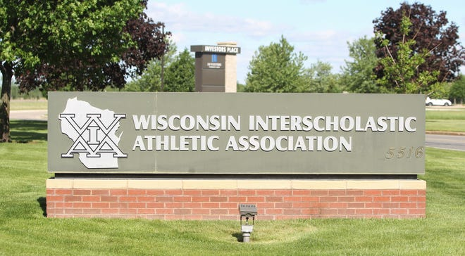 The Wisconsin Interscholastic Athletic Association office in Stevens Point, Wis. on May 26, 2021.