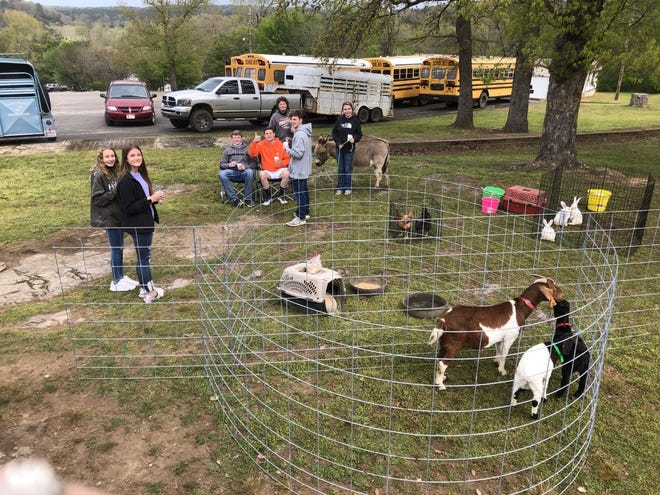 The Calico Rock High School Gifted and Talented and the Elementary Science Program hosted the annual Earth Day celebrations April 23.
