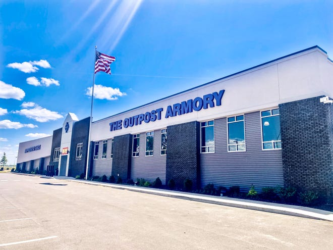 The Outpost Armory in Murfreesboro will open its doors Friday, May 28. It offers retail and classroom space along with 17 shooting lanes.