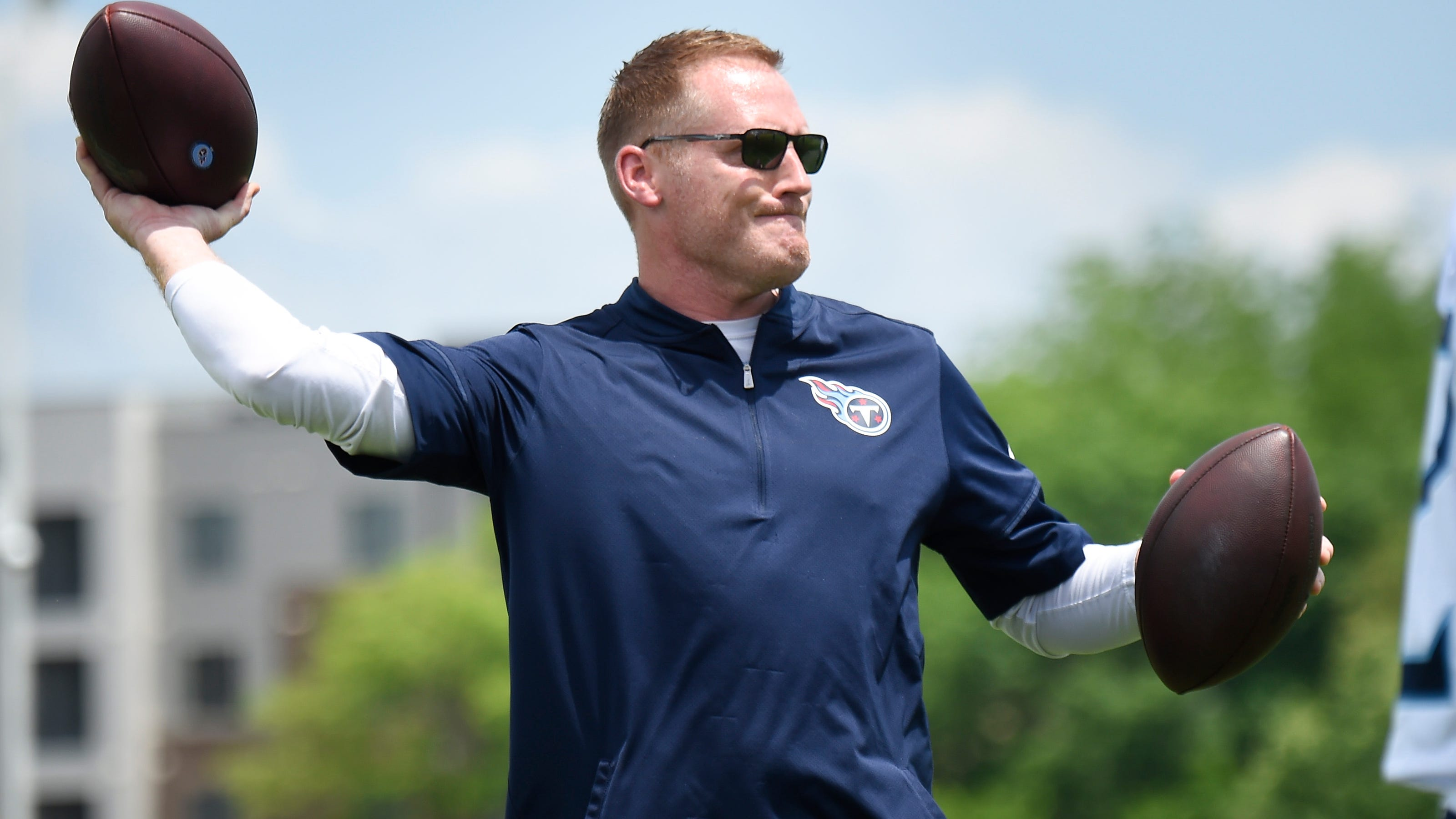 Tennessee Titans OC Todd Downing not trying to be Arthur Smith