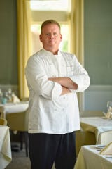Photo of Chef Greg Stott at Cafe Panache in Ramsey for Father's Day profile on 05/27/21.