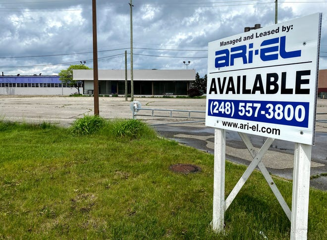 The property at 30250 Grand Rive Ave., in Farmington Hills. Formerly an auto dealership before hosting a school, the property is set to go back to auto sales, albeit online.