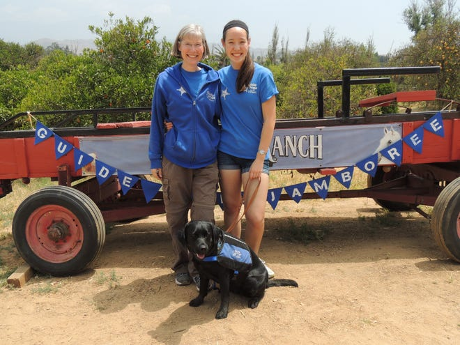 Becky and Annie Poy are both volunteer puppy raisers for Guide Dogs of the Desert.