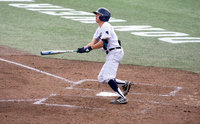 Nevada's Tyler Bosetti set a college baseball record earlier this season by homering in nine straight games.