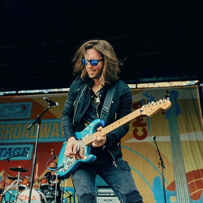 "Aurora native Nicholas ""Blaze"" Baum recently landed a gig playing guitar on Blake Shelton's new album."