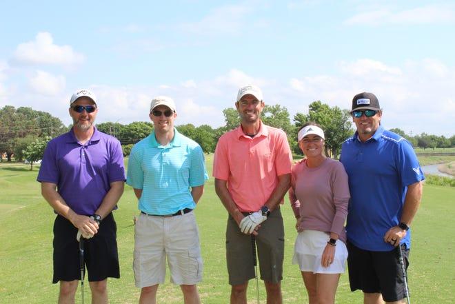 First Flight - First Place - Genesis: Doug Thompson, Logan Baker, Robert Ernst, Brooke Luxton (D & D member), Wes Luxton