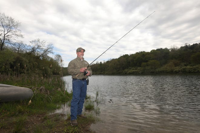 John Campbell is director of facilities at The Wilds. An avid outdoorsman, he also oversees the Wilds' fishing safaris.