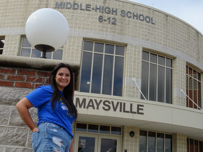 Malerie Vandyne is one of 155 seniors in Maysville High School's class of 2021. Departing from the high school as class president, teacher role models motivated her to one day return Maysville as an educator herself and inspire children in the same way.