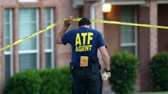 An ATF agent on August 8, 2013, in DeSoto, Texas.