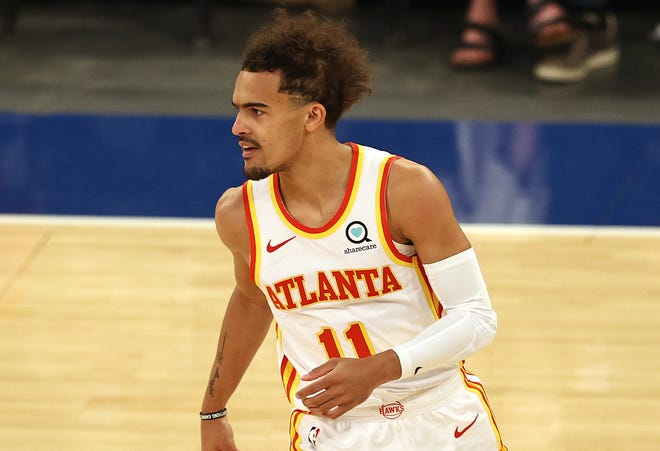 Trae Young has not been intimidated by the boos and jeers at Madison Square Garden in his first career playoff games.