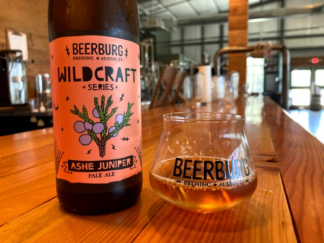 Beerburg founder Trevor Nearburg is rolling out new beers all year long that are part of his Wildcraft series.