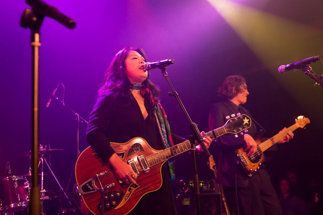 Betty Soo, seen here performing at 3Ten in 2018, is known for performing Americana music, but she says the cadences of her grandmother's Korean folk songs sometimes infuse her sound.